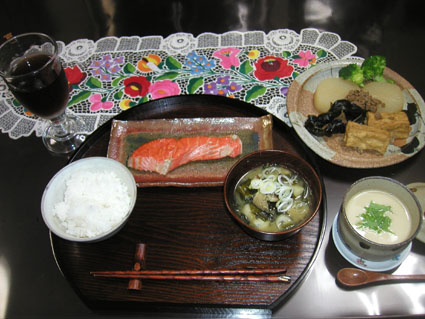 秋鮭塩焼き