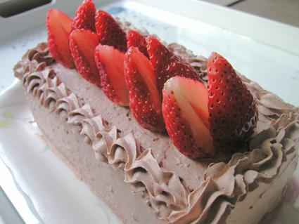トップス風ケーキ
