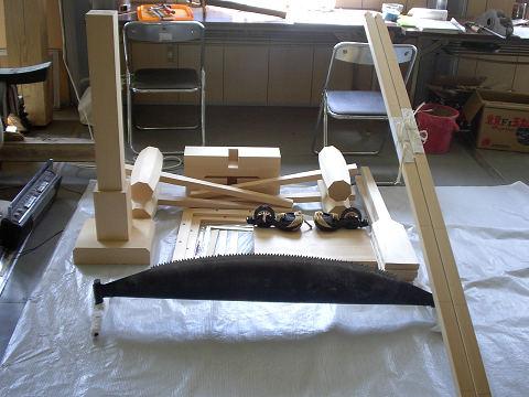 上棟式の道具類