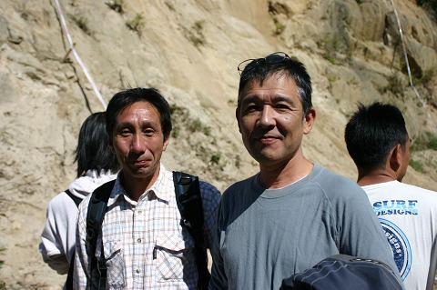 谷口さん(左)と山下さん(右)