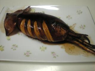 イカの甘辛焼き