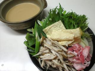 味噌味豆乳鍋