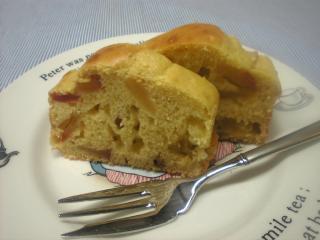 ホットケーキミックスのりんごケーキ