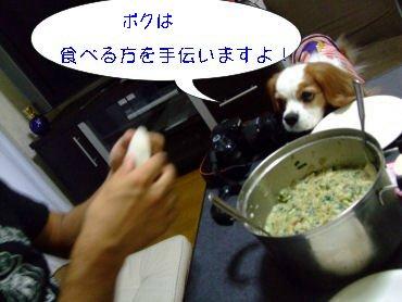 僕は食べるほうを
