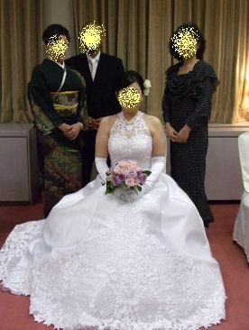 花嫁さんと~♪