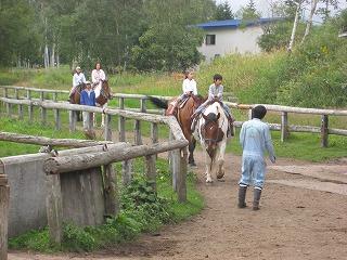 乗馬体験牧場