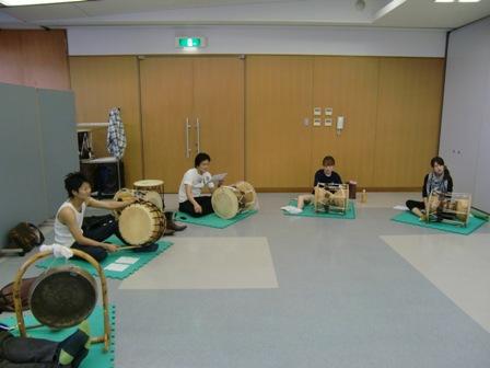 09年中区民祭り練習