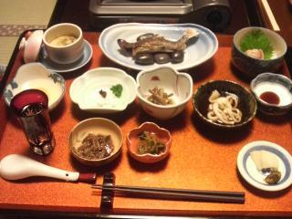 はるみや夕食090321
