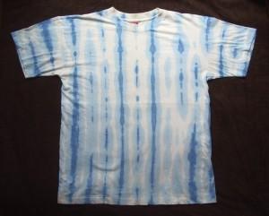 Tシャツ絞り染めT