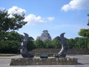 シャチホコ姫路城