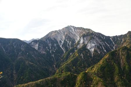 甲斐駒ヶ岳(鞍掛山展望台より)