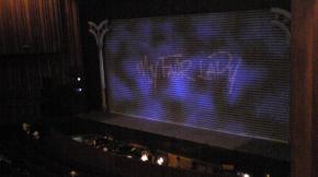 開演35分前!2階席より舞台を望む・・・