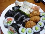 誕生日 寿司 (1)