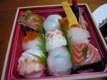 誕生日 寿司 (2)
