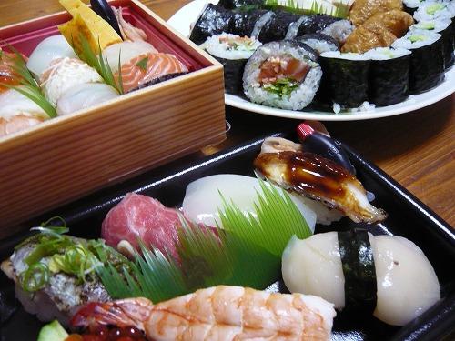 誕生日 寿司 (3)
