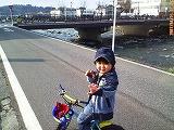 出雲橋と刈谷田川とジュニア・・・