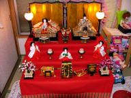 2009年雛飾り