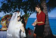挙式をサポートしてくれたスタッフの方 - InterContinental Beachcomber Tahiti