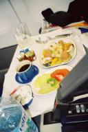 Air Tahiti Nui の機内食 (ビジネスクラス)