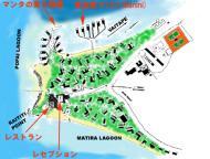 Hotel Bora Bora の地図