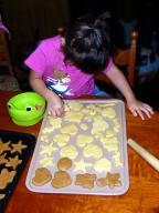ぷに子の「クッキーつくり」