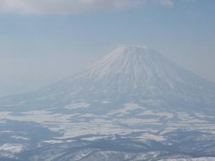 綺麗に見えた羊蹄山!
