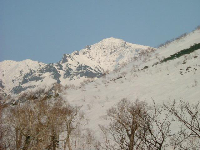 オプタテシケ山と中央稜ルート