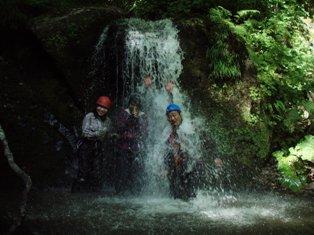 金ヶ沢Co430の滝