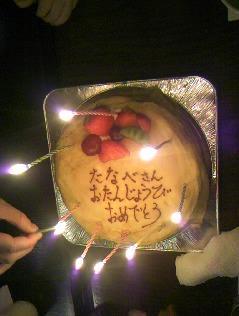 店長ケーキ