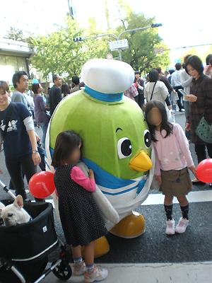 鳥取県のキャラクターの鳥?