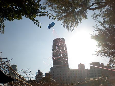 風船タワー