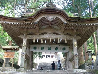 大神山神社奥宮-神門