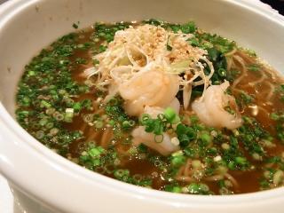 海老ネギ生姜麺1