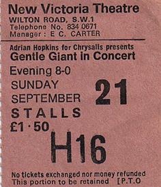 GG Ticket