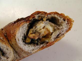 輪粉 黒ごまバナナクリームチーズ3