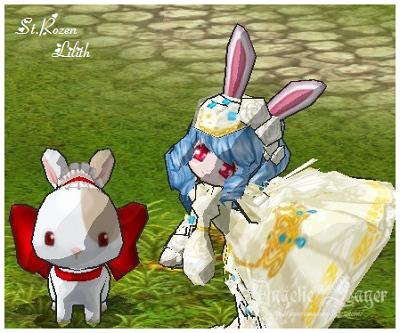 兩隻小兔子XD