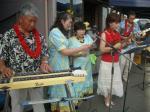ハワイアンミュージックもスタート