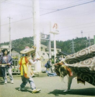 川島祭り・獅子舞