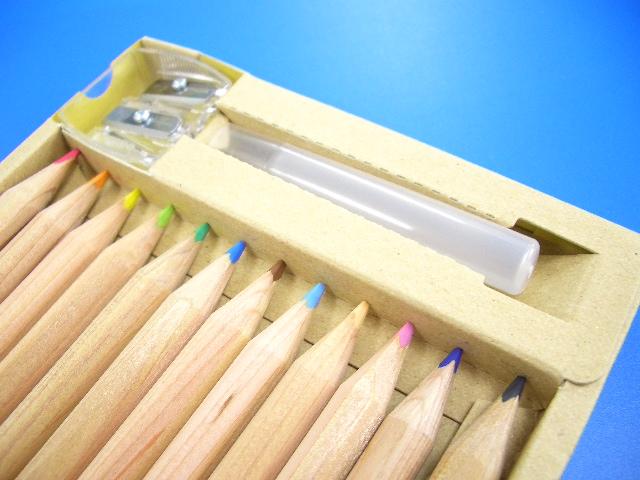 無印良品 色鉛筆60色