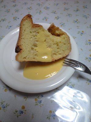 豆乳シフォン