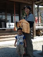 3大杉神社宮参り