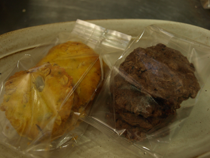 2カボチャの米粉クッキー・ゴボウのクッキー