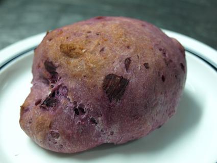 8紫いものスコーンパン