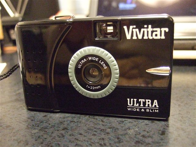 Vivitar Ultra Wide&Slim黒ボディ