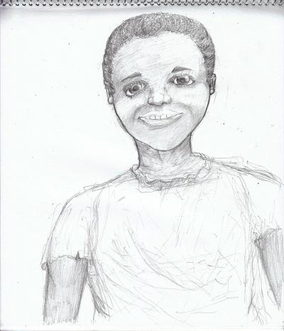 少年(黒人)