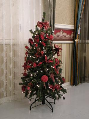 120cm tree red