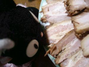 焼き豚にゃ~☆にこっ☆