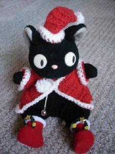 魔女猫サンタにゃん☆.:゚☆.:゚☆.:゚