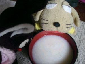甘酒にゃん☆.:゚☆.:゚☆.:゚にこっ☆
