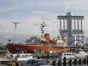 南極観測船ふじ☆ポートタワー☆